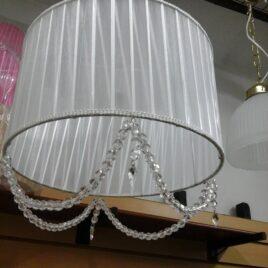 Colgante de Techo en Organza 35 cm con Cairel 2 Luces