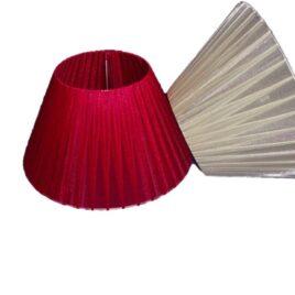 Pantalla de  Organza 25 cm Para Velador Lampara de Mesa